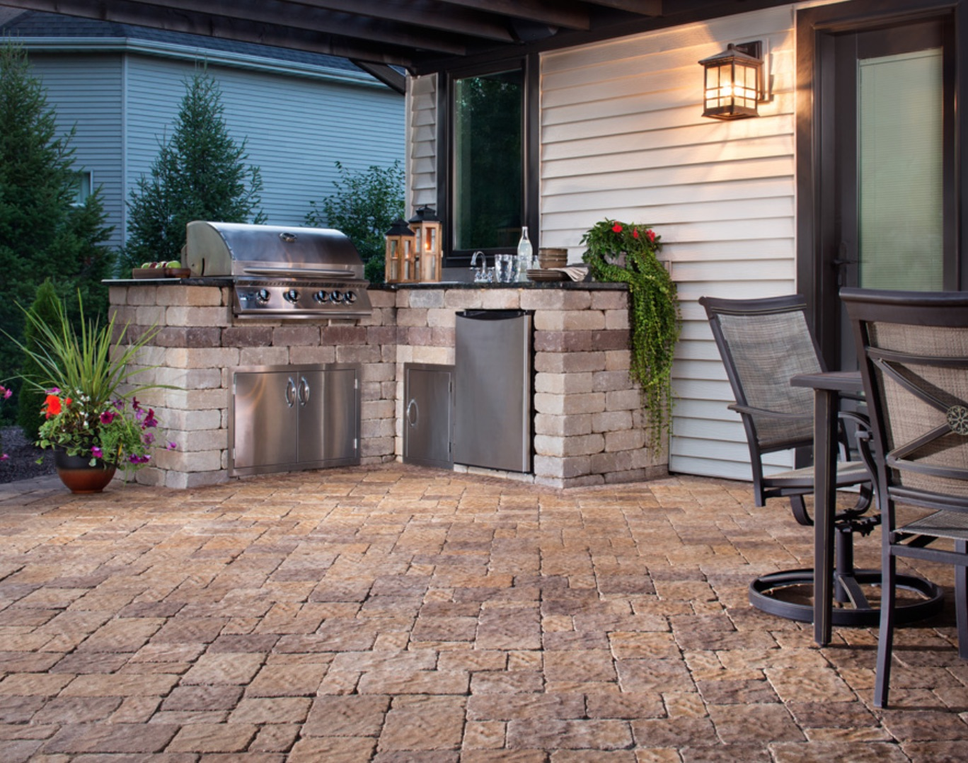 Amazing Outdoor Kitchens Patera Landscaping Omaha Nebraska Download Free Architecture Designs Salvmadebymaigaardcom