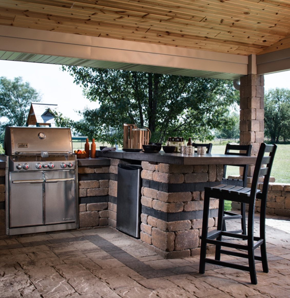 Magnificent Outdoor Kitchens Patera Landscaping Omaha Nebraska Download Free Architecture Designs Salvmadebymaigaardcom