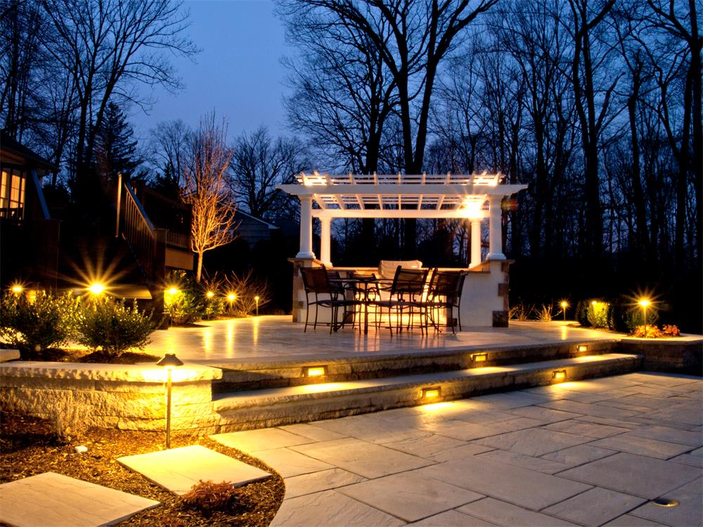 Landscape Patio Lighting