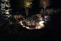 outdoor lighting - front home view