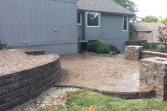 Large Patio Design for Outdoor Seating