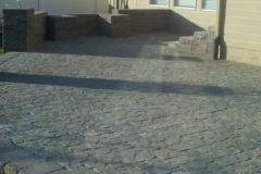 Patio Area Designed and Installed by Patera Landscaping