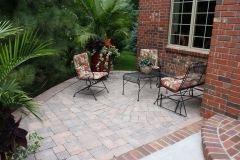 Patera Landscaping - Patio in Back Yard