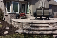 Patio, Steps, Landscaping by Patera