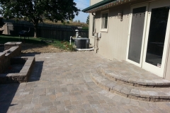 Back Yard Patio Area by Patera
