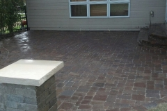Large Back Yard Patio Area - Patera