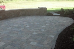 Large Back Yard Patio Area