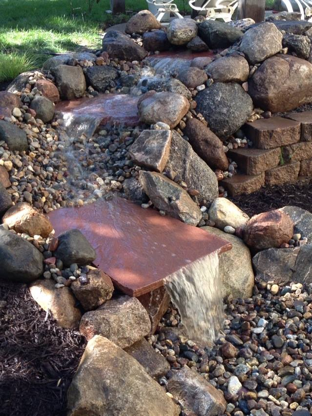 Water Feature - All Different Stone Work