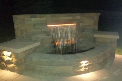 Water Feature with Seating Area - Patera