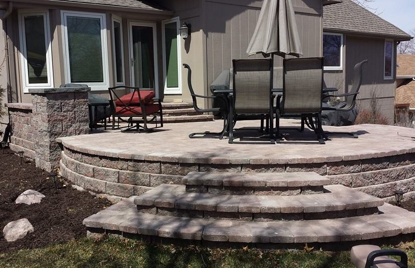 A Patio Can Be A Paved Outdoor Area Adjoining A House. The Fun We Get To  Have With Patios Is Endless. From Different Shapes And Sizes To Changing Up  Colors ...