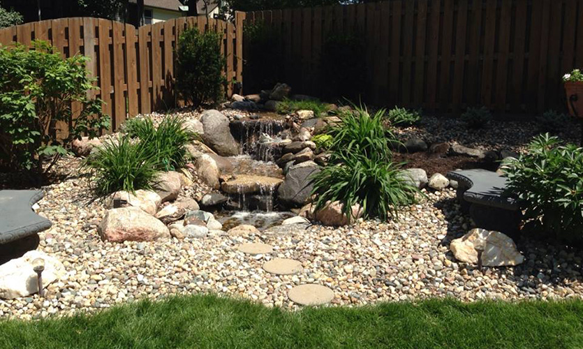 water features patera landscaping omaha nebraska