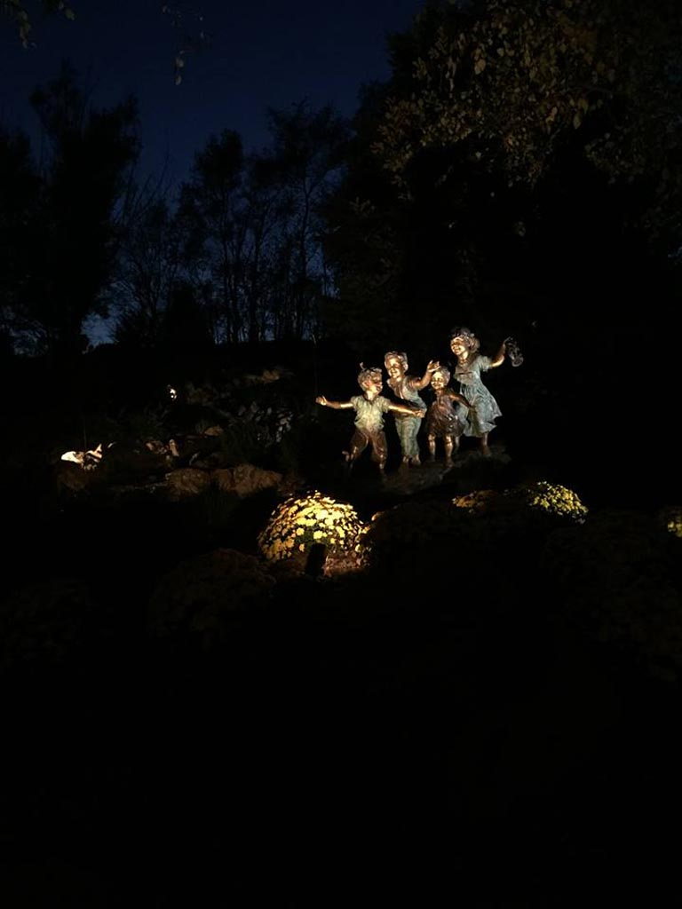 landscaping lighting by Patera Landscaping