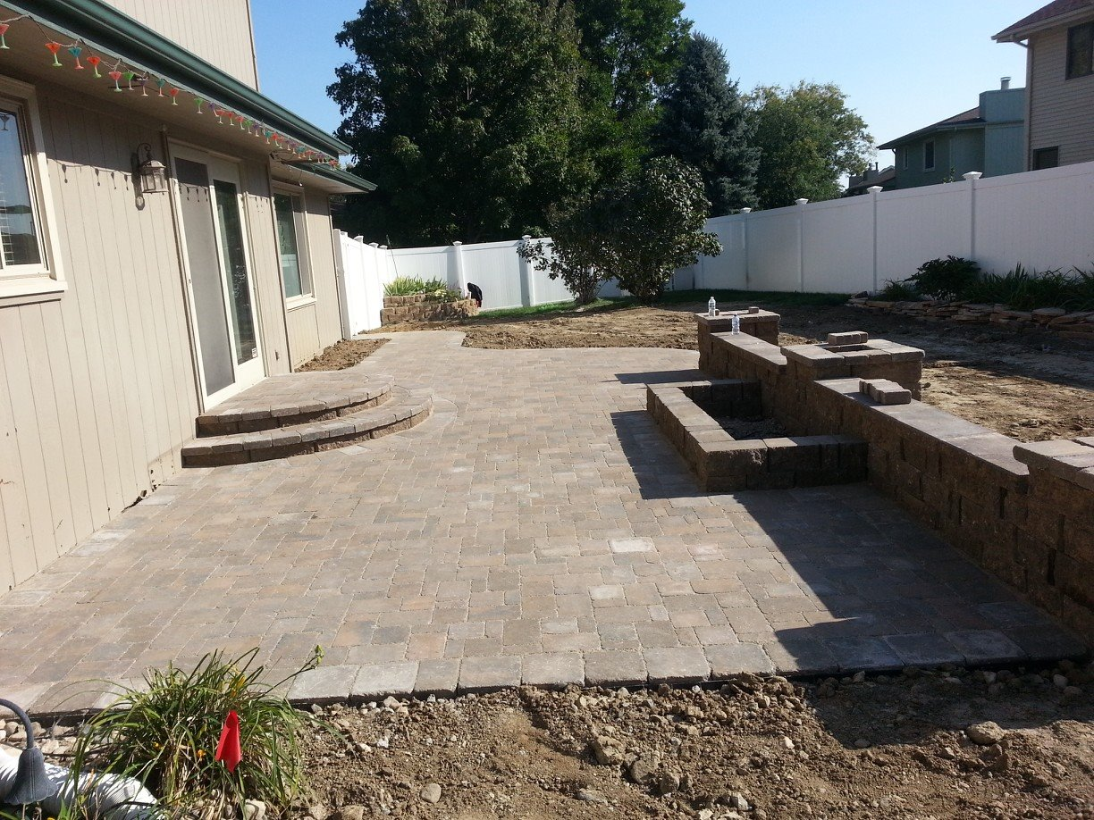 Patera Landscaping - Patio Design and Installation in Omaha