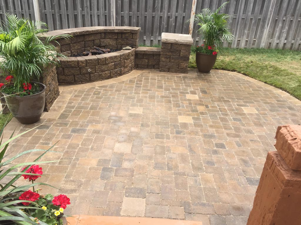 Patio Living Area in Back Yard - Patera