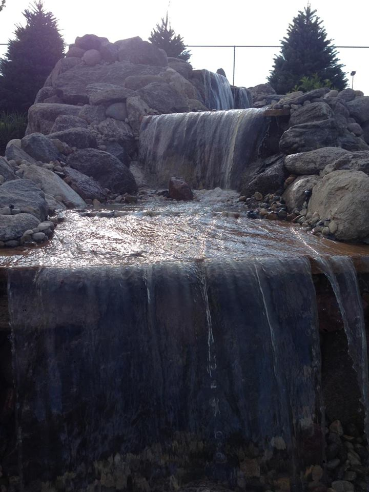 Water - Feature for Back Yard Area