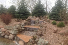 Stone and Rock Water Feature